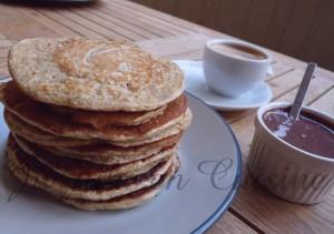 Pancakes au son d'avoine