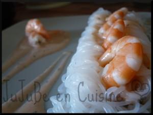 Délice de konjac aux crevettes (Dukan)