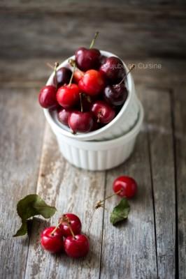 De belles cerises, indispensables pour un bon clafoutis...