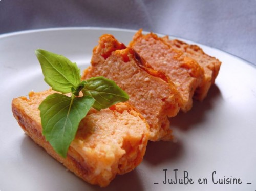 Terrine tomate mozzarella basilic