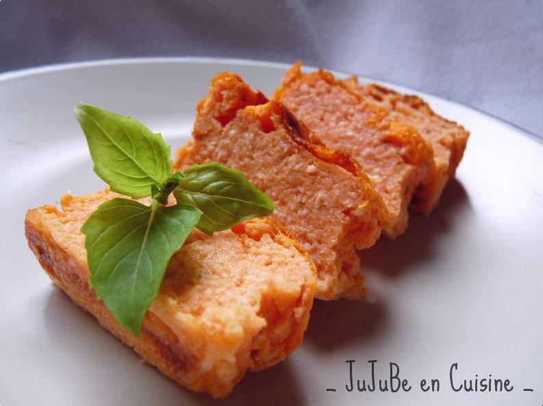 recette de terrine de tomates mozzarella et basilic jujube en cuisine. Black Bedroom Furniture Sets. Home Design Ideas