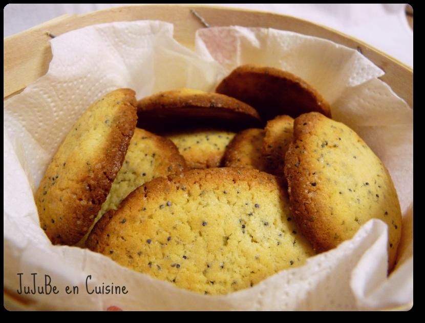 Recette biscuit noel citron