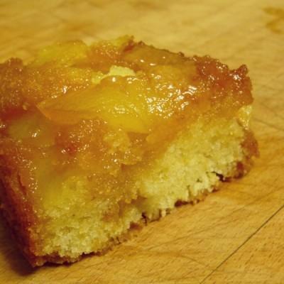 Gateau pomme avec beurre
