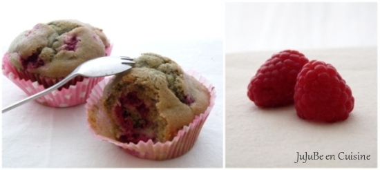 Muffins framboises et mascarpone