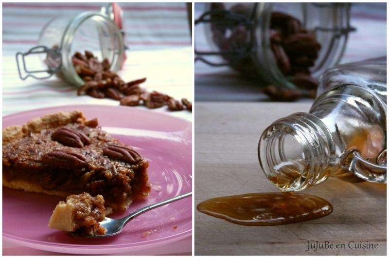 Pecan pie / Tarte aux noix de pécan (et sirop d'érable)