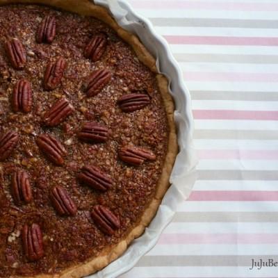 pecan pie tarte aux noix de p can et sirop d rable jujube en cuisine. Black Bedroom Furniture Sets. Home Design Ideas