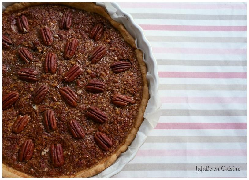 pecan pie tarte aux noix de p can et sirop d 39 rable jujube en cuisine. Black Bedroom Furniture Sets. Home Design Ideas
