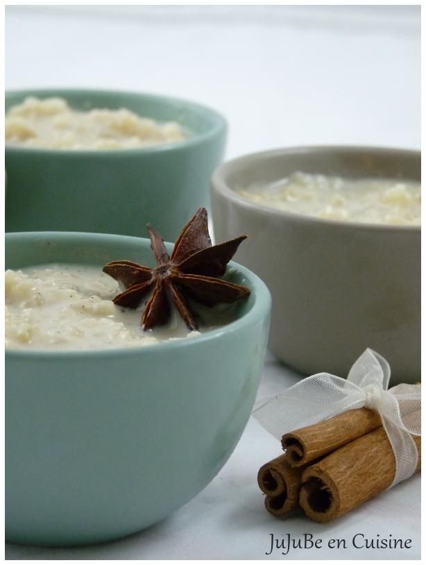 recette de riz au lait aux pices jujube en cuisine. Black Bedroom Furniture Sets. Home Design Ideas