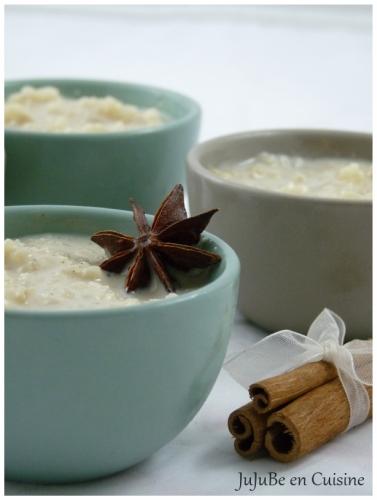 Riz au lait aux épices