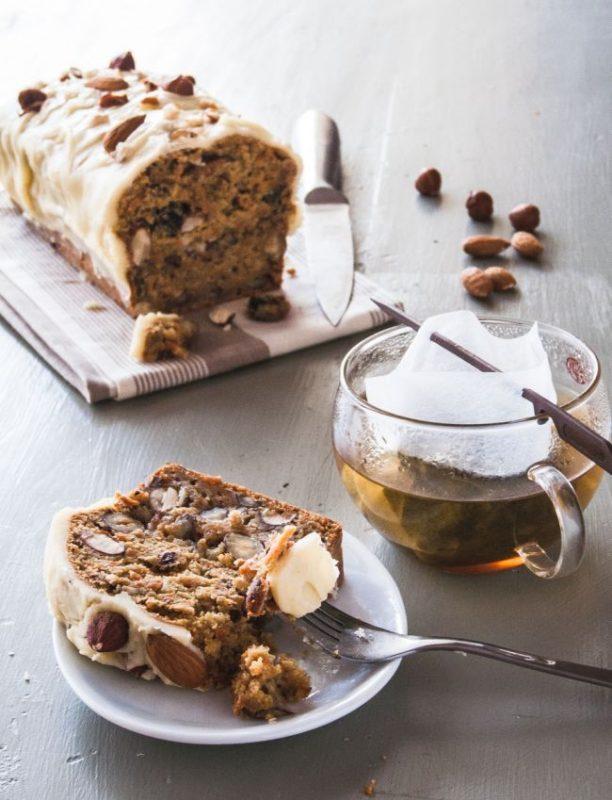Carrot cake - glaçage au beurre noisette ( Brown Butter Icing ) | Jujube en cuisine