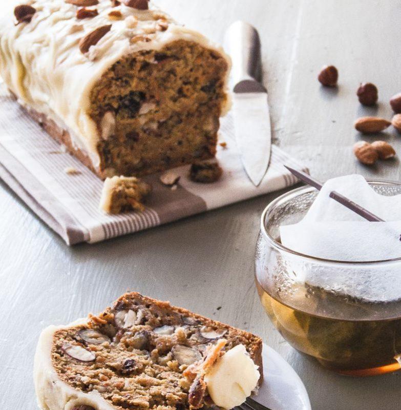 Carrot cake – glaçage au beurre noisette ( Brown Butter Icing )