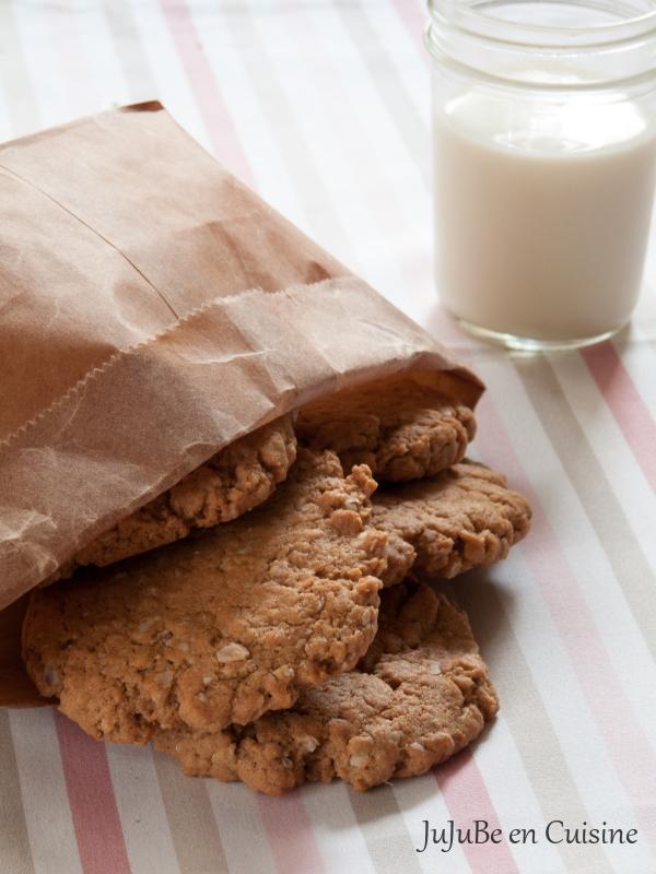 recette de oatmeal cookies noix de cajou et cacahu tes juube en cuisine. Black Bedroom Furniture Sets. Home Design Ideas
