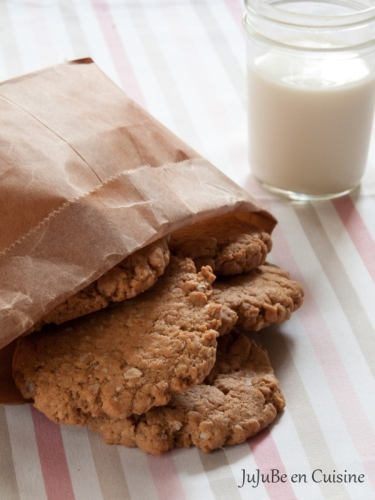 Oatmeal Cookies (sans beurre)
