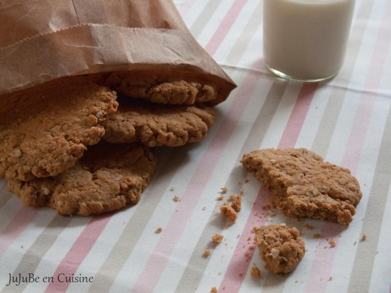 recette de oatmeal cookies noix de cajou et cacahu tes. Black Bedroom Furniture Sets. Home Design Ideas