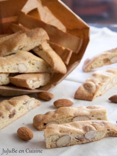 Croquants aux amandes (biscuits provençaux – sans beurre)