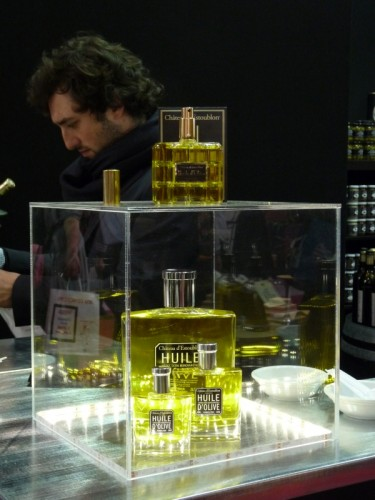 De l'huile d'olive conditionnée comme du Chanel N°5