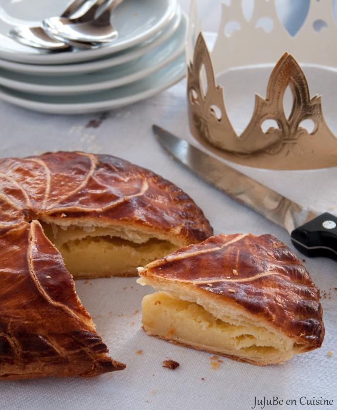 Recette de galette des rois la vraie frangipane jujube en cuisine - Galette des rois herve cuisine ...