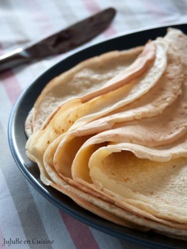 La pâte à crêpes - Classique ou alléger (sans lait) c'est comme vous préférez