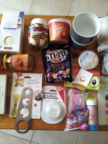 Swap culinaire internationnal (box entre blogueuses)