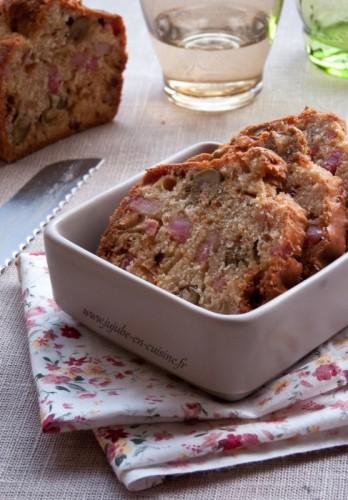 Cake aux olives et jambon (sans gluten)
