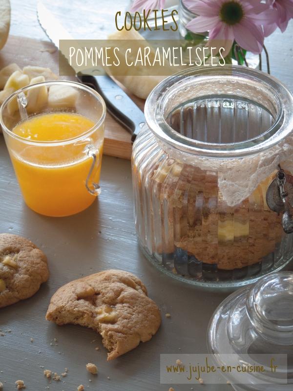 Cookies aux pommes caramélisées de Laura Todd