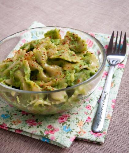 Il était une fois un brocolis trop cuit devenu sauce pour des pâtes...