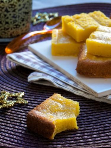 Gâteau à l'orange, safran et huile d'olive