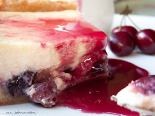 Bloody Cheesecake - Cheesecake à la cerise (au fromage blanc)