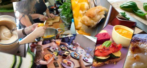 Le week end en cuisine : tout le monde a mis la main à la pâte !