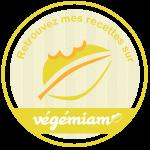 Retrouvez mes recettes végétariennes et végétaliennes sur vegemiam.fr !
