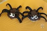 Les cupcakes araignées de Une Tortue dans la Cuisine