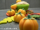Les cupcakes chocolat et crème de marron de Une Papaye verte en salade
