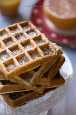 L'amie du petit déjeuner parfait : la gaufre !