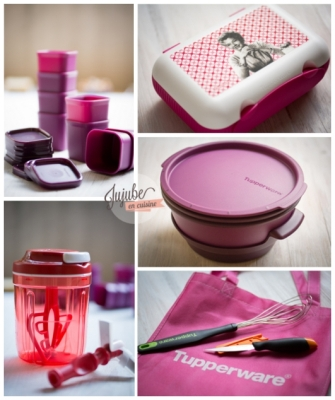 Mon lot Tupperware