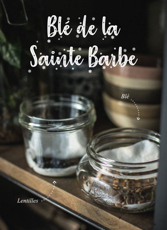 Blé (et lentilles) de la Sainte Barbe | Noël | Jujube en cuisine