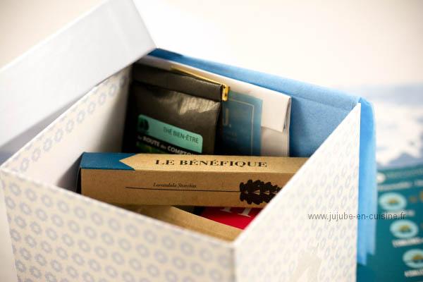 La box Envouthé et ses trésors
