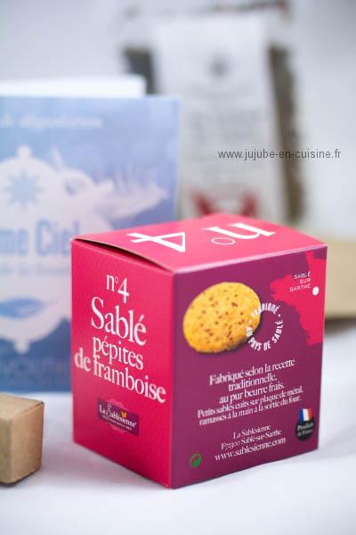 La box Envouthé - Sablés