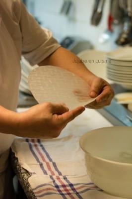 Cassez la galette de riz