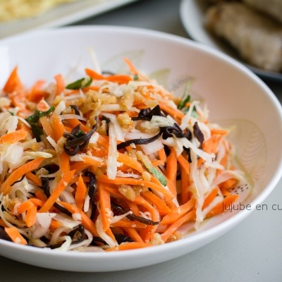 Atelier cuisine Vietnamienne – Etape 2 : La salade Goï