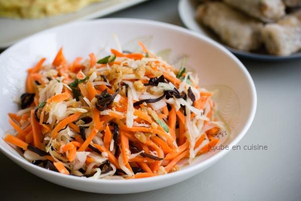 Salade Goï (ou Salade vietnamienne)