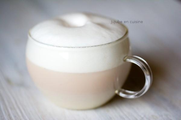 Chaï latte soja