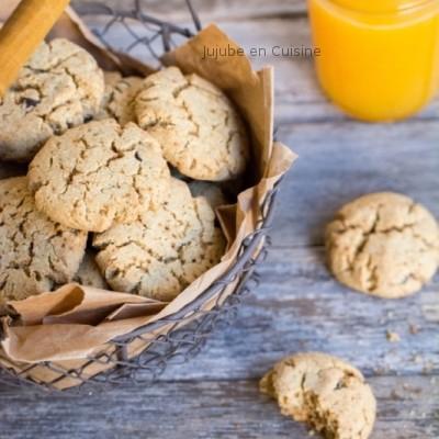 Des cookies tout coco (et pépites de chocolat)