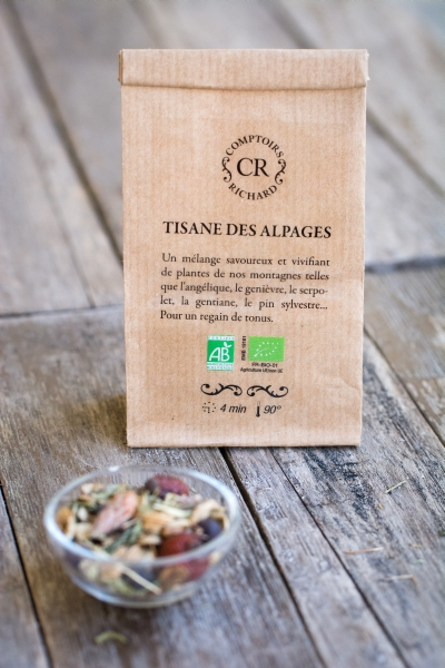 La thé box - Tisane des alpages - Comptoirs Richard