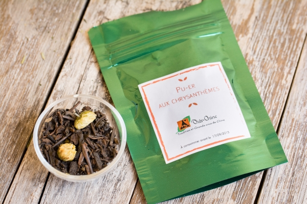 La thé box - Pu Er aux Chrysanthèmes - Thés de Chine