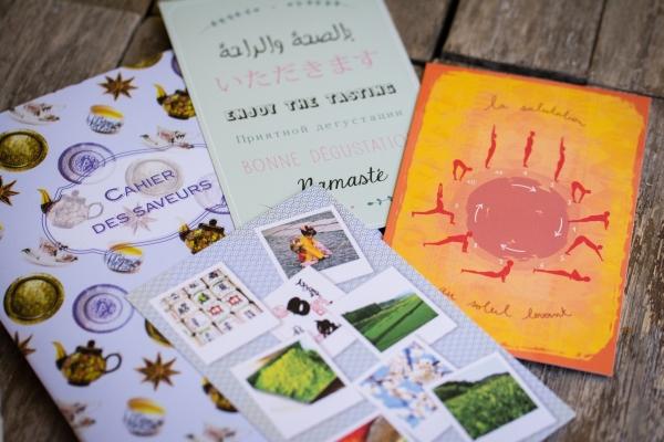La thé Box - Le cahier des saveurs et les cartes