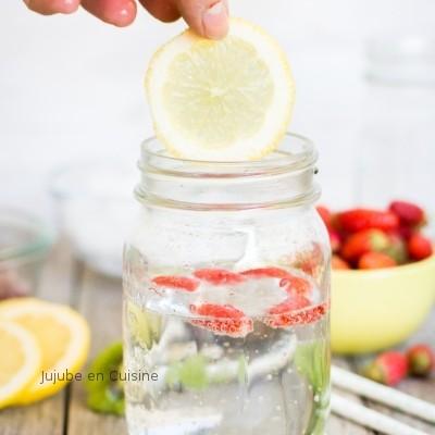 Detox water – Ça «detox» peut-être pas, mais c'est bon !