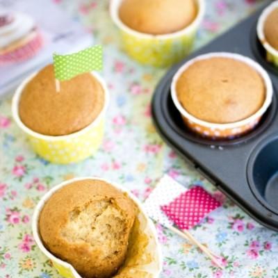 La recette de base des muffins vegans