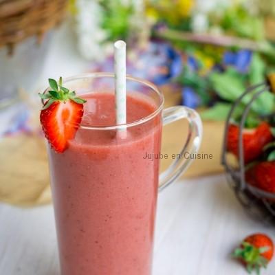Smoothie à la fraise… Mais pas que !