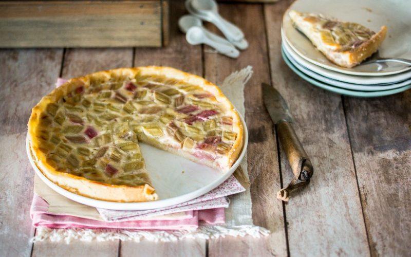 Tarte à la rhubarbe (et crème de coco) | Jujube en cuisine