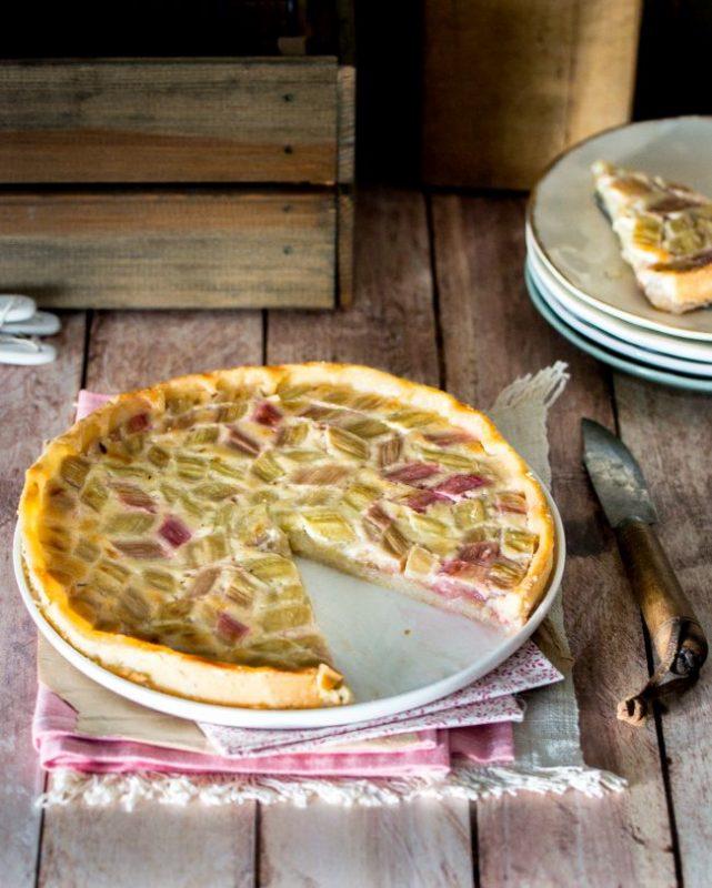Tarte à la rhubarbe (et coco) | Jujube en cuisine